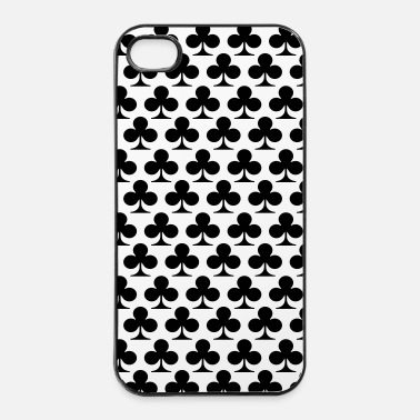 Carte poker fiori - Custodia rigida per iPhone 4/4s