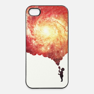 Schilderen The universe in a soap-bubble - phone Case  - iPhone 4/4s hard case
