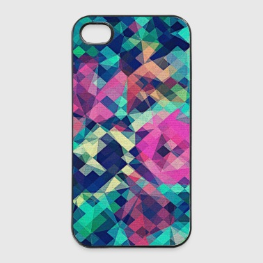 Abstract Rose (färgstarka mönste) Art - Phone Case - Hårt iPhone 4/4s-skal