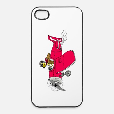Illustratie piloot - iPhone 4/4s hard case