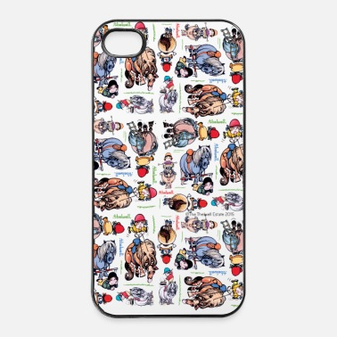 Colorée PonyDessins Thelwell Dessin - Coque iPhone 4 & 4s