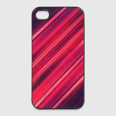 Abstract minimal texture (red/black) - Phone case - iPhone 4/4s Hard Case
