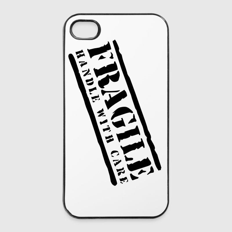 Fragile handle with care - iPhone 4/4s Hard Case