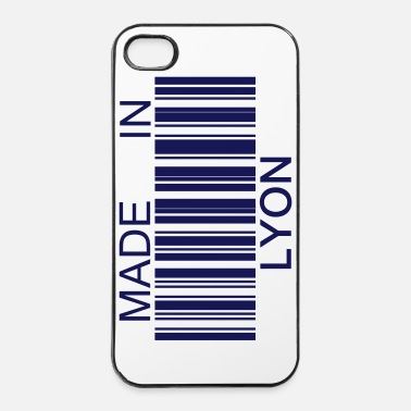 Code Made in Lyon 69 - Coque rigide iPhone 4/4s