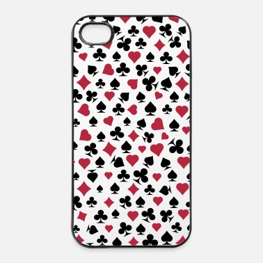 Carte poker decorazione - Custodia rigida per iPhone 4/4s