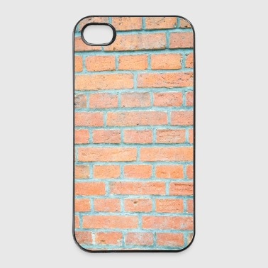 Mauerwerk Wand Ziegel - iPhone 4/4s Hard Case