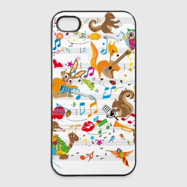 Konzert der Tiere - iPhone 4/4s Hard Case