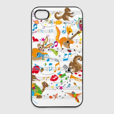 Concert of Animals - iPhone 4/4s Hard Case