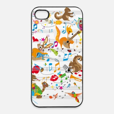 Concert Concert of Animals - iPhone 4/4s Hard Case