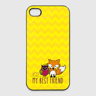 Beste Freunde Handyhülle - iPhone 4/4s Hard Case