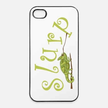Afrika Slurping chameleon - iPhone 4/4s hard case