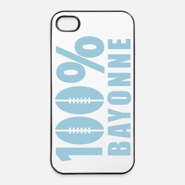 Surf 100 % Bayonne ballon rugby - Coque rigide iPhone 4/4s