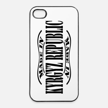 Stempel made in kyrgyz republic m1k2 - iPhone 4/4s hard case