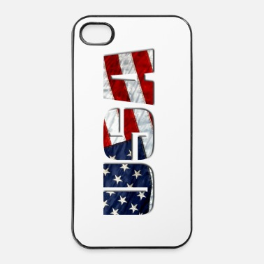 Amérique USA - Coque rigide iPhone 4/4s