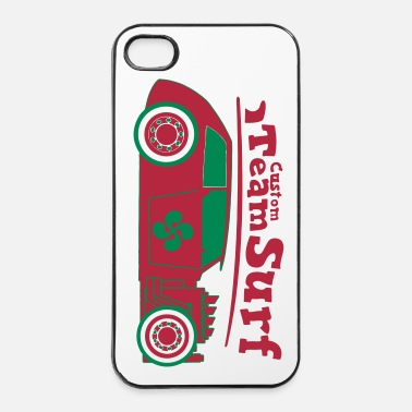 Longboard Custom Team Basque surf - Coque rigide iPhone 4/4s