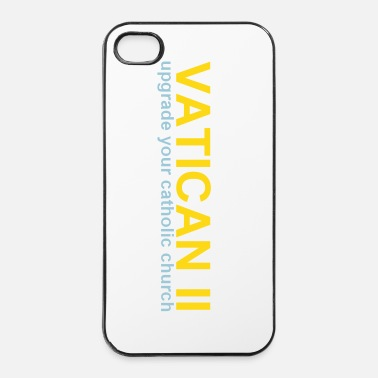 Chrétien VATICAN II upgrade your catholic church  - Coque rigide iPhone 4/4s