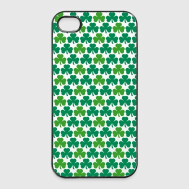 shamrocks phone - iPhone 4/4s hard case
