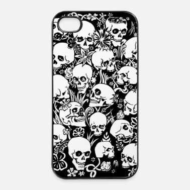 Black skulls - iPhone 4 & 4s Case