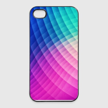Abstract Colorful Art Pattern (Pride - Texture) - iPhone 4/4s Hard Case