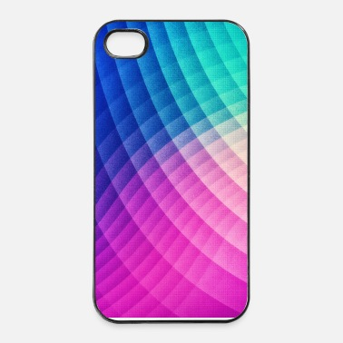 Graphic Art Abstract Colorful Art Pattern (Pride - Texture) - iPhone 4/4s kovakotelo