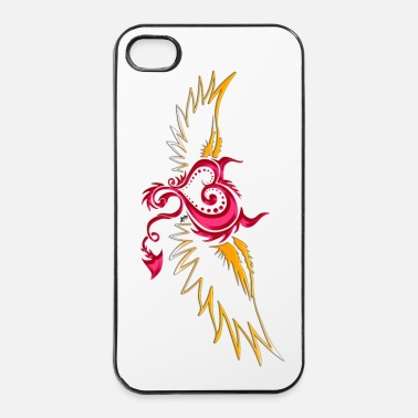 Diable flying devil 001 by DK - Coque rigide iPhone 4/4s