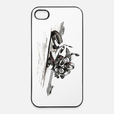 Tuning motorcycle - iPhone 4 & 4s Case