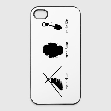 Haus Auto Klo - iPhone 4/4s Hard Case