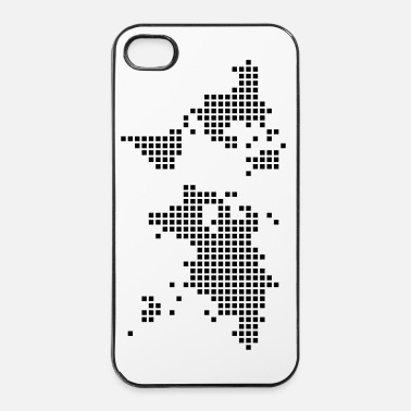 Pixel world - iPhone 4/4s hard case