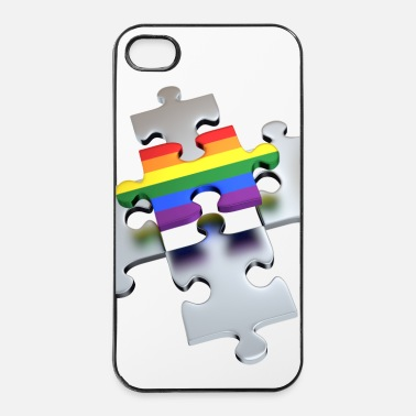 Puzzle Rainbow the One - Coque rigide iPhone 4/4s