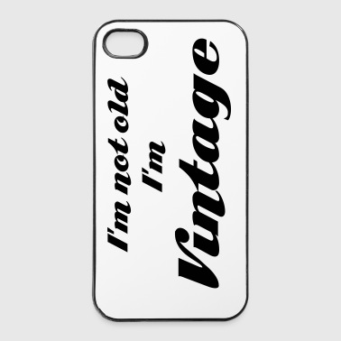 Vintage - Coque rigide iPhone 4/4s