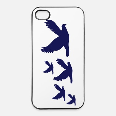 Mer oiseau colombe vole voyage - Coque rigide iPhone 4/4s