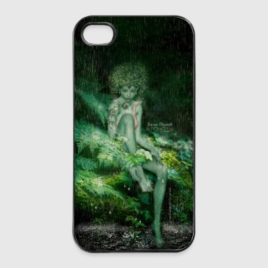 grüne Wald Elfe Lilien by Sabina Elisabeth - iPhone 4/4s Hard Case