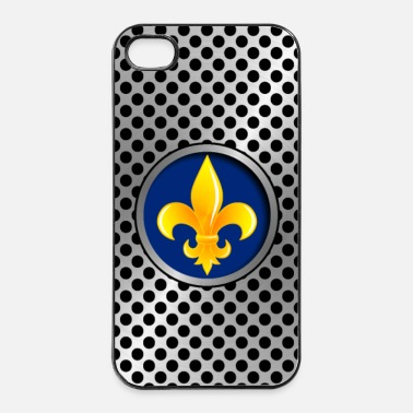 Symbole Coque smartphone, symbole royaliste - Coque rigide iPhone 4/4s