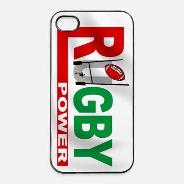 Rugby Rugby power - iPhone case - Coque rigide iPhone 4/4s