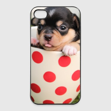 Super Sweet Hund im Topf - iPhone 4/4s Hard Case