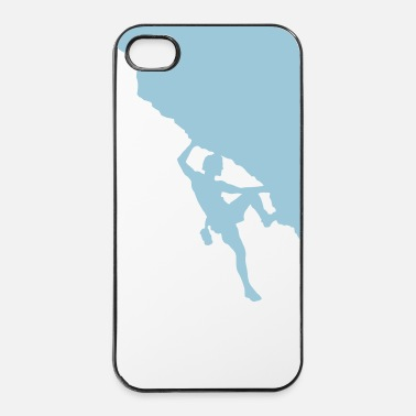Montagne escalade - Coque rigide iPhone 4/4s