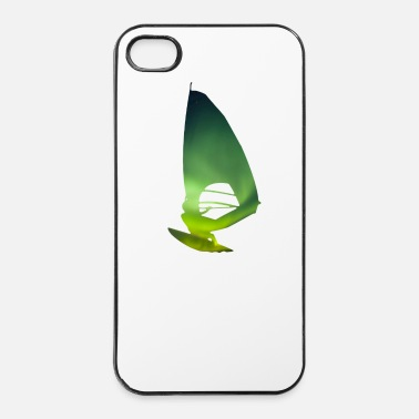 Champion Du Monde Northern Lights 01 Windsurfer surf - Coque rigide iPhone 4/4s