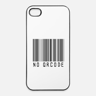 Icon barcode no QR code icon by patjila - iPhone 4/4s hard case