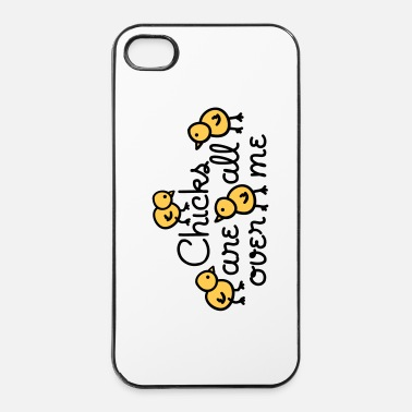 Macho Chicks are all over me - iPhone 4/4s hard case