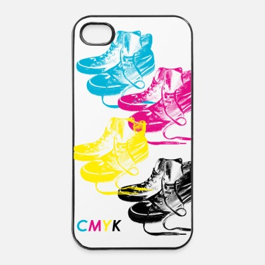 Collections CMYK Sneakers Handy - iPhone 4/4s Hard Case