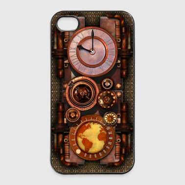 Infernal Steampunk Timepiece iPhone 4 / 4S case - Twarde etui na iPhone 4/4s