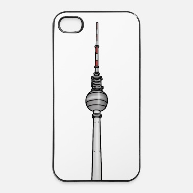 Tv TV-toren Berlijn c - iPhone 4/4s hard case