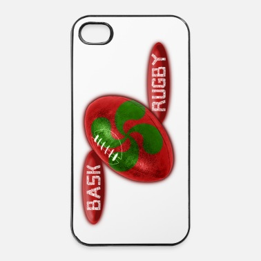 Espagne Rugby Basque ballon - Coque rigide iPhone 4/4s
