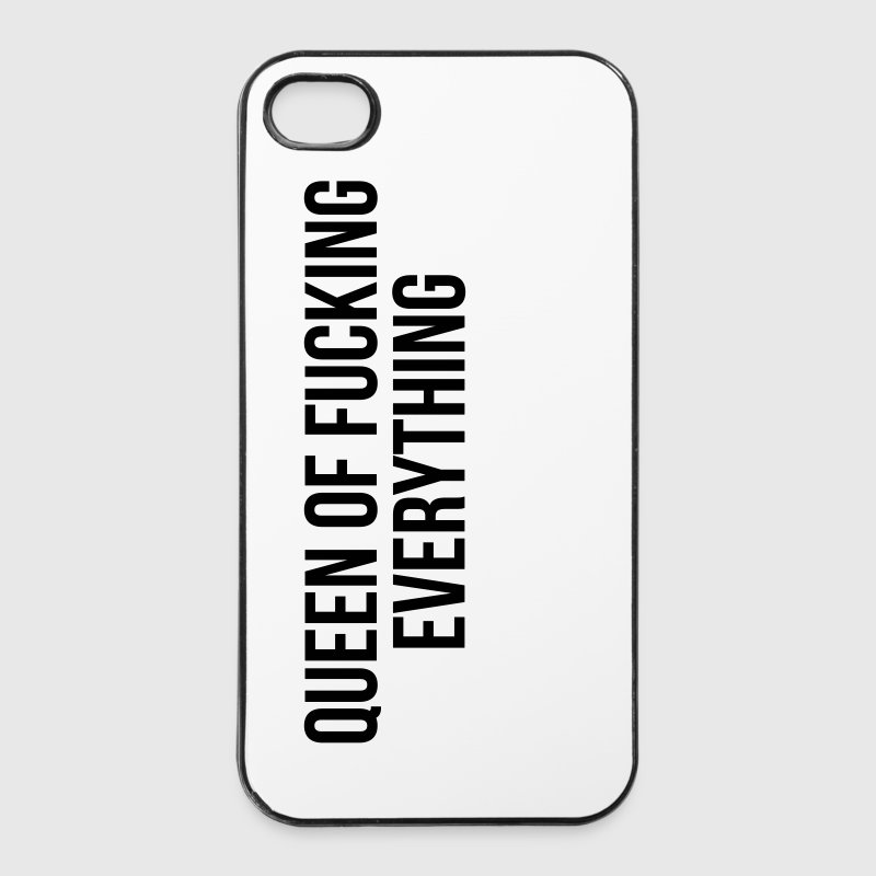 Queen of fucking everything - Twarde etui na iPhone 4/4s