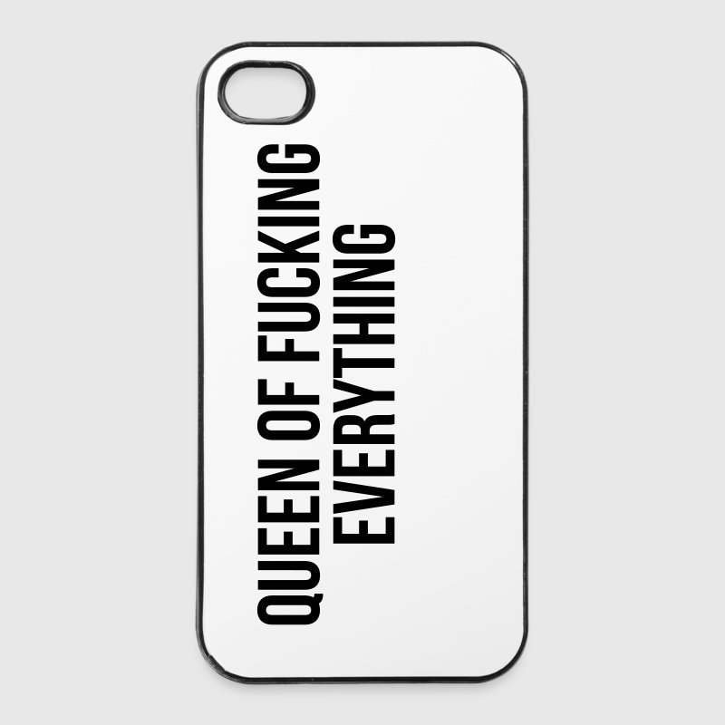 Queen of fucking everything - iPhone 4/4s Hard Case