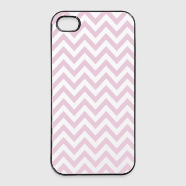 chevron stripes rayas de chevron - Carcasa iPhone 4/4s
