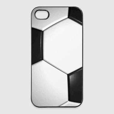 voetbal patroon sport cadeau winnaar phone pad - iPhone 4/4s hard case