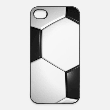 Patroon voetbal patroon sport cadeau winnaar phone pad - iPhone 4/4s hard case