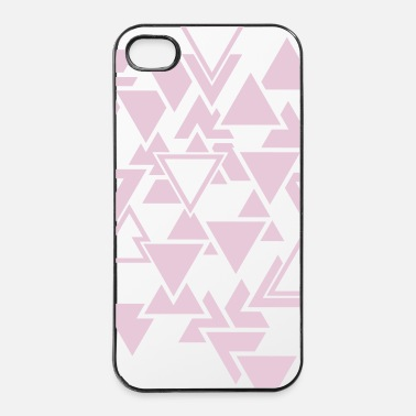 Mode Triangles motif graphique - Coque rigide iPhone 4/4s