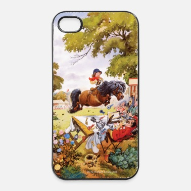 Pony Pony toernooi Thelwell Cartoon - iPhone 4/4s hard case
